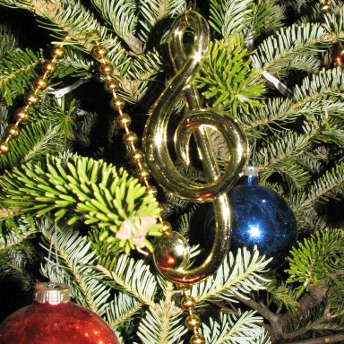 Christmas ornament, Leroy Anderson House